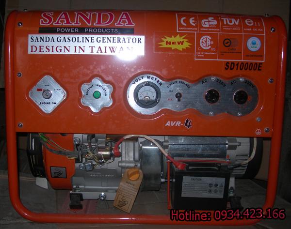máy phát điện gia đình SD10000E 5