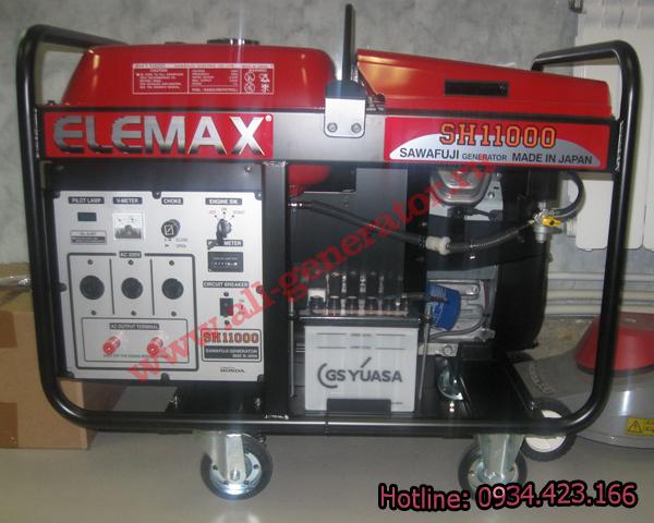 Máy phát điện Honda ELEMAX SH11000DXS 3