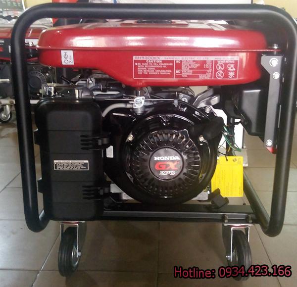 máy phát điện honda elemax sh6500 3