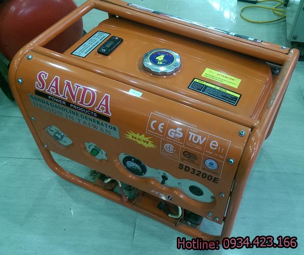 máy phát điện mini Sanda sd3200e 2