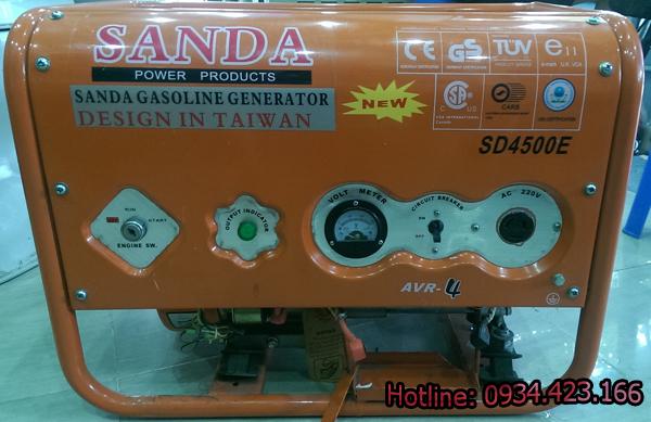 máy phát điện gia đình SD4500e