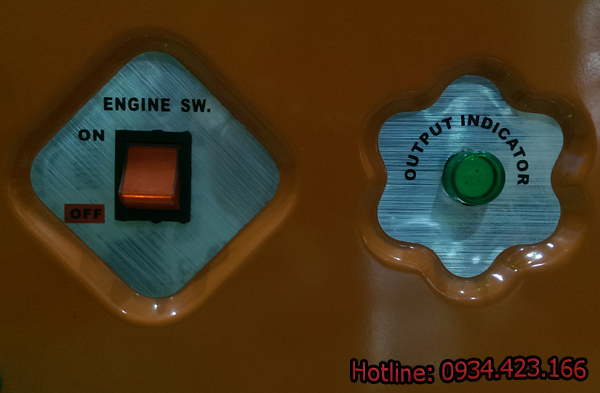 máy phát điện gia đình SD4500r  8
