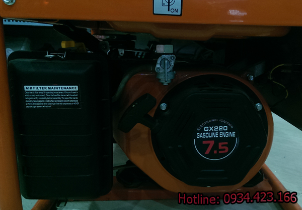 máy phát điện gia đình SD4500r  5