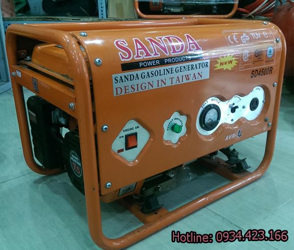 máy phát điện gia đình SD4500r  1