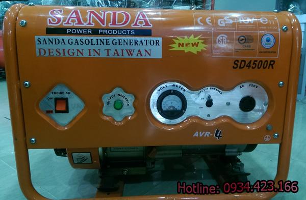 máy phát điện gia đình SD4500r