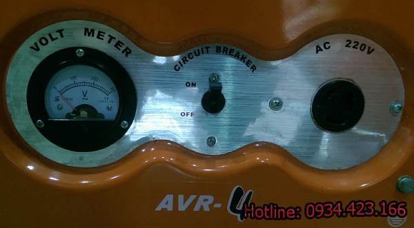 máy phát điện gia đình SD4500r  7