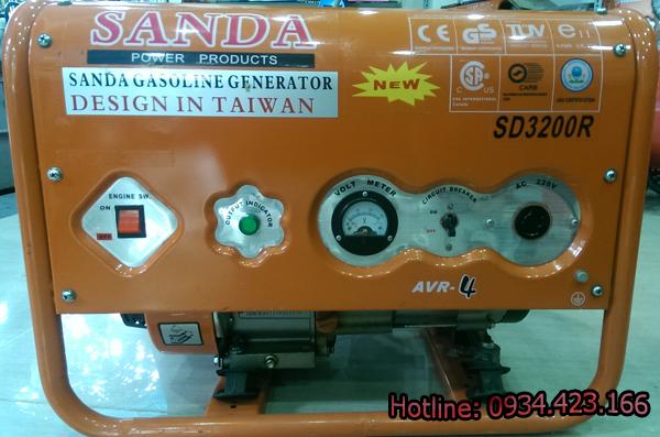 máy phát điện mini 3200r