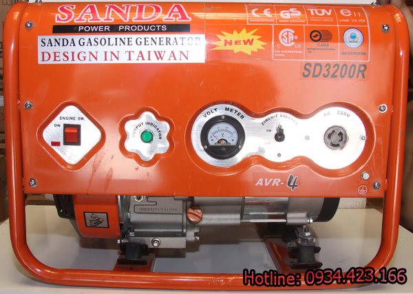 Máy phát điện mini Sanda 2.2KW SD3200R 1