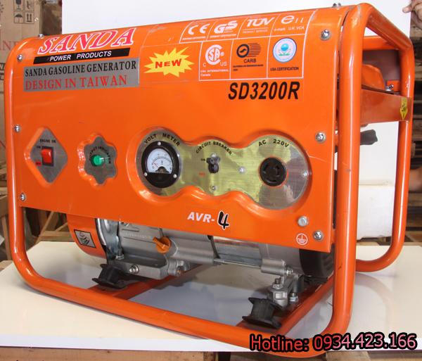 Máy phát điện mini Sanda 2.2KW SD3200R 2