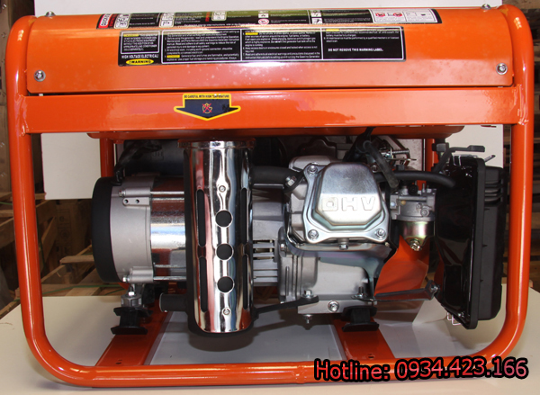 Máy phát điện gia đình Sanda 3.1KW SD4500E 3