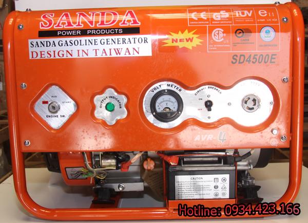 Máy phát điện gia đình Sanda 3.1KW SD4500E 1