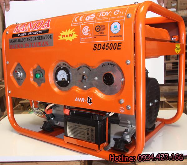 Máy phát điện gia đình Sanda 3.1KW SD4500E 2