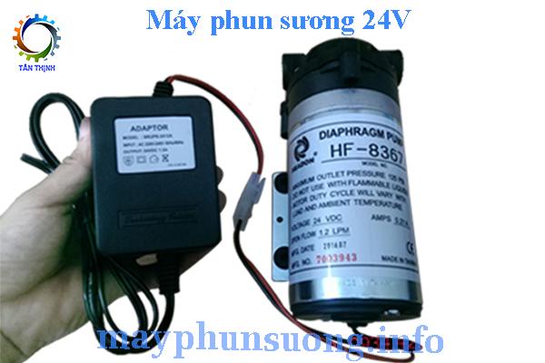 may phun suong 24v dai loan thong tin