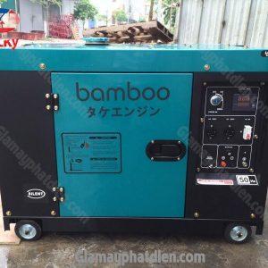 May Phat Dien Chay Dau Bamboo 10kva 8kw 1pha Bmb9800et 2 Min